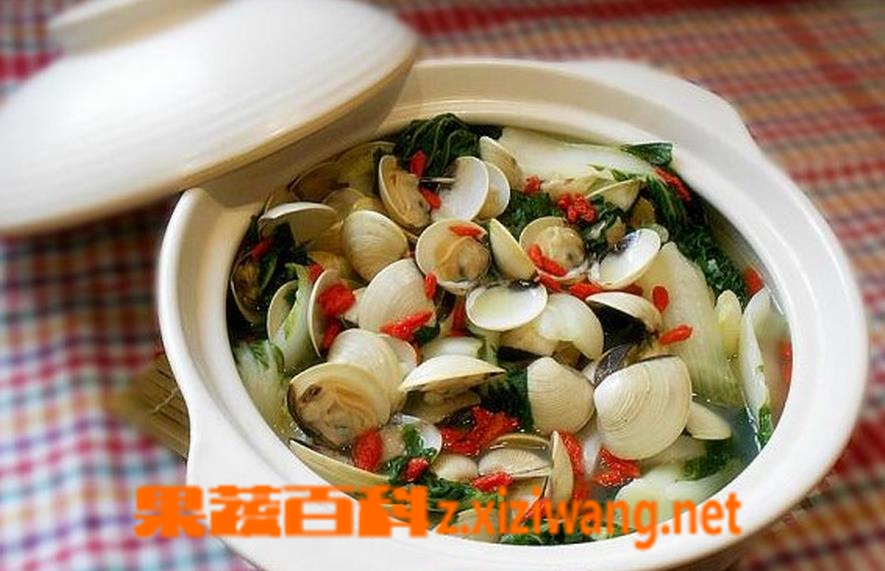 果蔬百科蛤蜊的做法大全 蛤蜊怎么洗干净